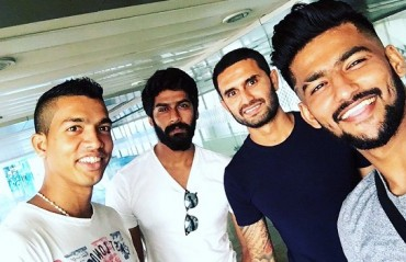 Bombay to ATK: Keegan, Darren, Ashutosh & Jayesh take off to join their ISL team