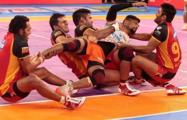 Pro Kabaddi: Bengaluru Bulls end 6-match losing streak, overcome Puneri Paltan 24-20