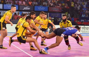 Pro Kabaddi: Telugu Titans claim 4th win of the season, thrash Haryana Steelers 37-19