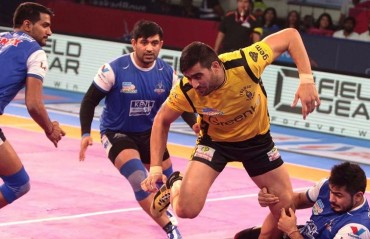 Defence culprit behind loss against Telugu Titans: Haryana Steelers' skipper Surender Nada