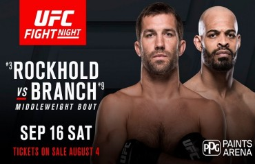 Luke Rockhold vs. David Branch: Preview And Prediction