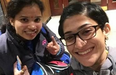 WATCH: Sikki's surprise for birthday girl Ashwini Ponnappa