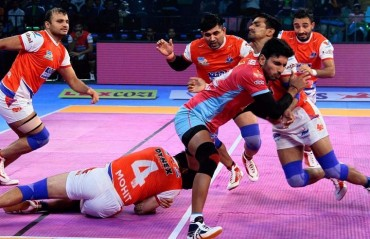 Pro Kabaddi: 'SuMo' return helps Haryana Steelers overcome Jaipur Pink Panthers 30-26