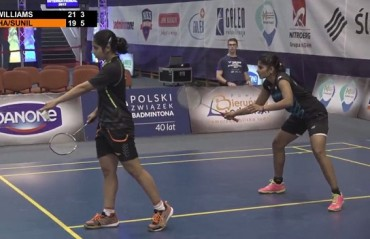 Polish IS: WD Maneesha/Aarthi Sunil settles for silver