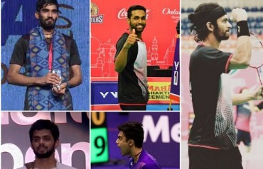 HISTORY: 5 Indian men's singles shuttlers in top 20; take a look at their best moments from this year