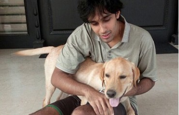 WATCH: Pranaav play with his 'grown-up boy'