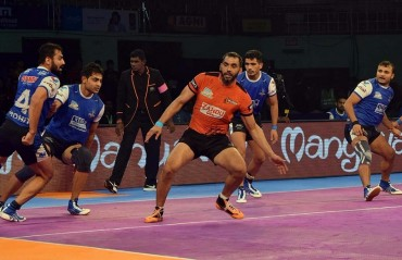 Pro Kabaddi: Anup Kumar's Super 10 effort goes in vain as Haryana Steelers beat U Mumba 30-41