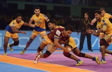 Pro Kabaddi: Tamil Thalaivas stay winless at home as UP Yoddha win 37-33