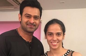 WATCH: Saina happy to be posing with 'Baahubali'