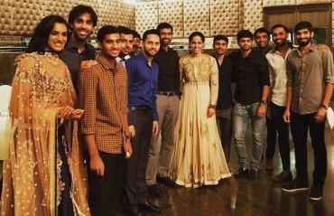 WATCH: Indian shuttlers dress their best for a wedding!