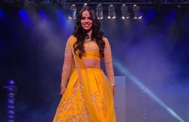 WATCH: Saina's stunning look for designer Neeta Lulla's show
