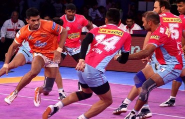 Pro Kabaddi: Puneri Paltan beat Jaipur Pink Panthers 38-30, move closer to the 2nd spot