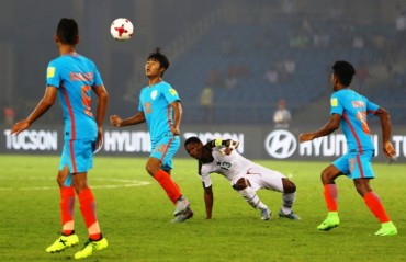 FIFA U17 WC - India bow out of their maiden FIFA World Cup