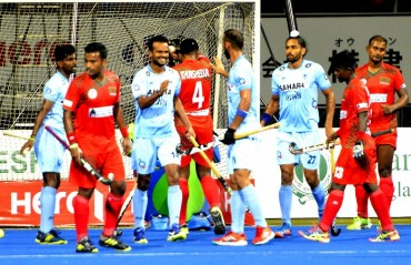 Indian Men's Hockey Team continue their dominant run, beat Bangladesh 7-0