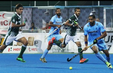 Indian Men's Hockey Team claim top spot in Pool A with a 3-1 win over Pakistan