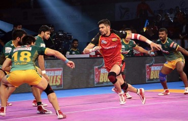 Pro Kabaddi: Rohit creates history as Bengaluru Bulls register 64-24 win against UP Yoddha