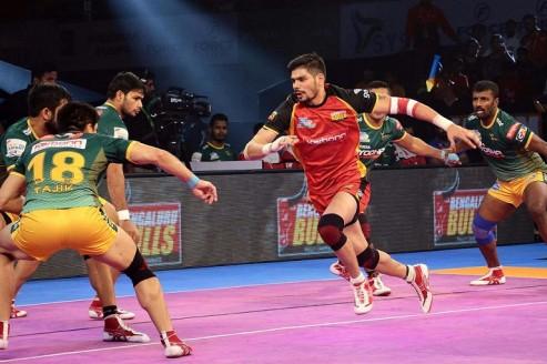 Pro Kabaddi: Rohit creates history as Bengaluru Bulls register 64-24 win against UP Yoddha