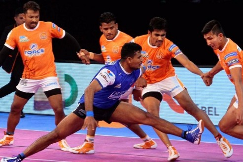 Pro Kabaddi: Haryana Steelers claim 31-27 win against Puneri Paltan in the last match of league stage