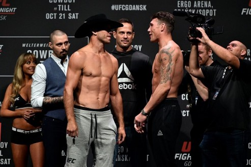 UFC Gdansk – Main event and co-main event preview & picks