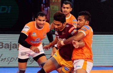 Pro Kabaddi: All-round Pune Eliminate UP Yoddha in a close encounter