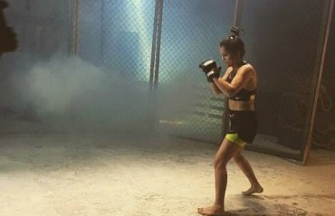 Indian MMA: Watch Bharti Dhoundiyal and Sunny Khatri in action for Procel advertisement