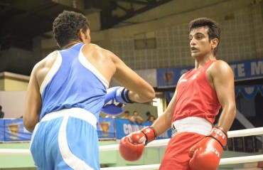 RSPB boxers Manoj and Mandeep advance in national boxing