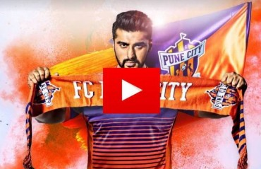 WATCH: FC Pune City players shake a leg to welcome new co-owner Arjun Kapoor