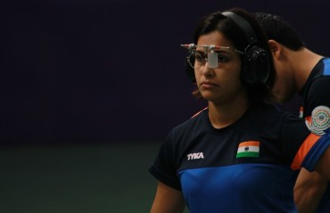 Heena Sidhu wins Women's Air Pistol Gold at Commonwealth Shooting Championship