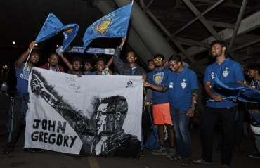 ISL 2017: Chennaiyin FC greeted by fans on their return from pre-season