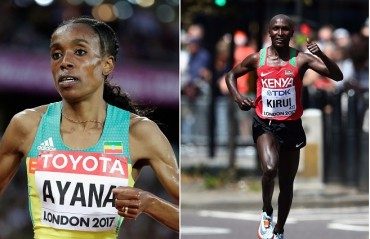 World champions Kirui and Ayana to contest Airtel Delhi Half Marathon 2017