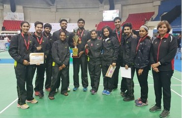 PSPB wins its 17th Team championship at the Inter-state Inter-zonal Badminton Championships