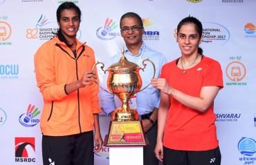 P.V Sindhu & Saina Nehwal enter semi-finals of 82nd Senior National Badminton Championship