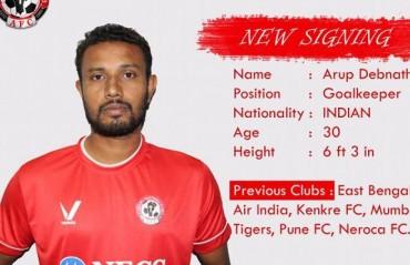 I-League 2017 - Aizawl FC sign former East Bengal goalkeeper Arup Debnath