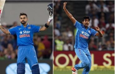 Kohli, Bumrah continue to lead ICC T20I rankings, India remain fifth