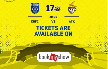 ISL 2017: Tickets for opening match between KBFC vs ATK goes live, starts at Rs. 240