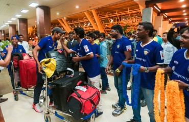 Namma Chennai, our heroes are back home. Are you ready?