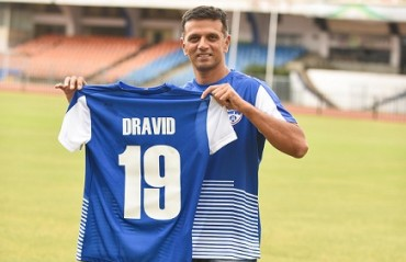 ISL 2017: Bengaluru FC rope in cricket icon Rahul Dravid as their ambassador