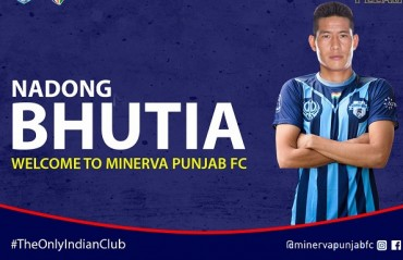 I-League 2017: Minerva Punjab FC sign winger Nadong Bhutia