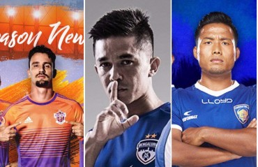 CHECK IT, RATE IT! Here are all the home strips for the ISL 2017 season