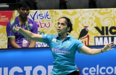 China SSP: Saina, Sindhu & Prannoy enter round two