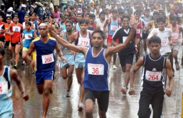 Ashis Roy, 83, takes his marathon tally to 145