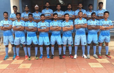 Hockey India names 18-member Indian Men's Team for Odisha Hockey World League Final Bhubaneswar 2017