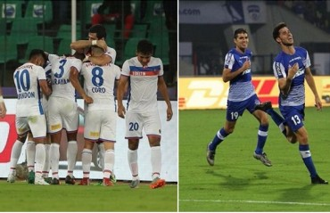 WATCH: Goals from the opening weekend of ISL 2017