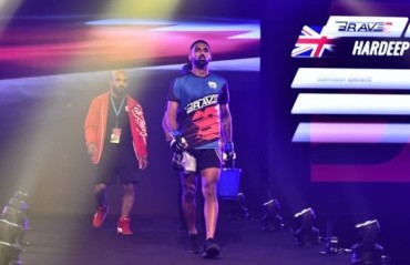 WATCH: Hardeep Rai vs. Sam Patterson Full Fight from Brave 9: The Kingdom of Champions