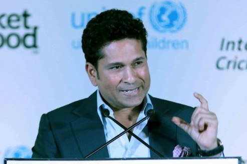 Parents should encourage kids to take up sports seriously, says Tendulkar