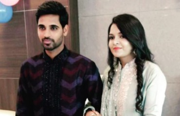 Bhuvneshwar announces wedding date; Shikhar teases the 'joru ka ghulam' in a hilarious video