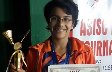 Thane girl Urvi represented Maharashtra Junior girl's team that ended as the runners-up