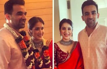 HITCHED: Zaheer Khan starts new innings, marries actress Sagarika Ghatge