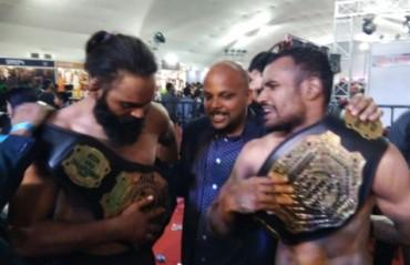 BOOM MMA: Ateet Kelvin Gupta dethrones Anastasius, Jujhar Dhillon crowned champion