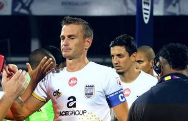 Our defence line can keep any team at bay, says MCFC skipper Goian on eve of Pune match